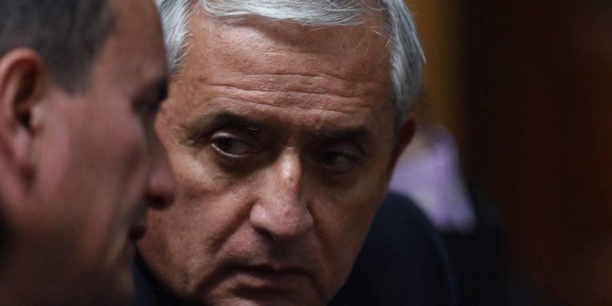 Expresidente Otto Pérez acciona en contra del juez Miguel Gálvez