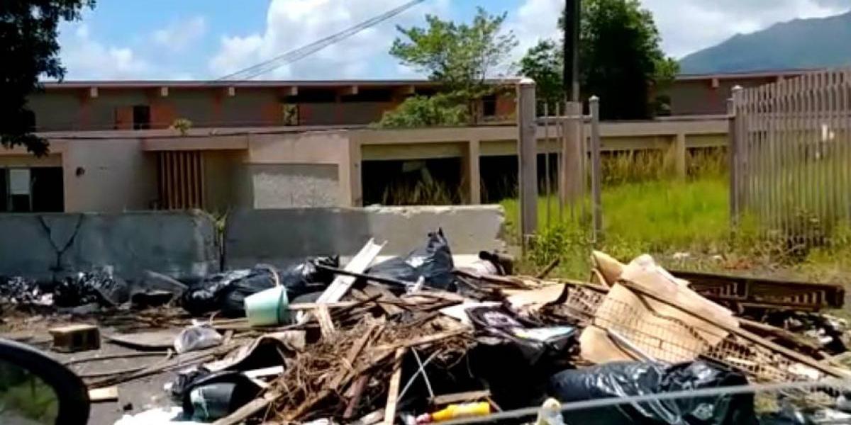 Así se encuentra una escuela de Río Grande a un año de su cierre