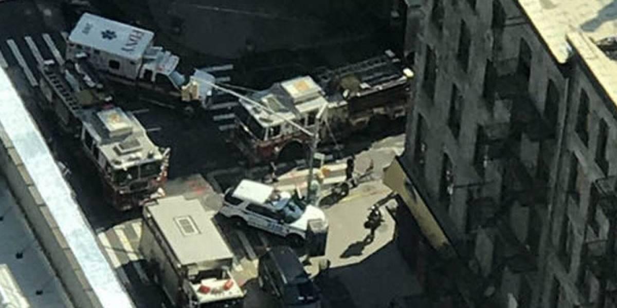 Explosión en Nueva York deja más de 30 heridos
