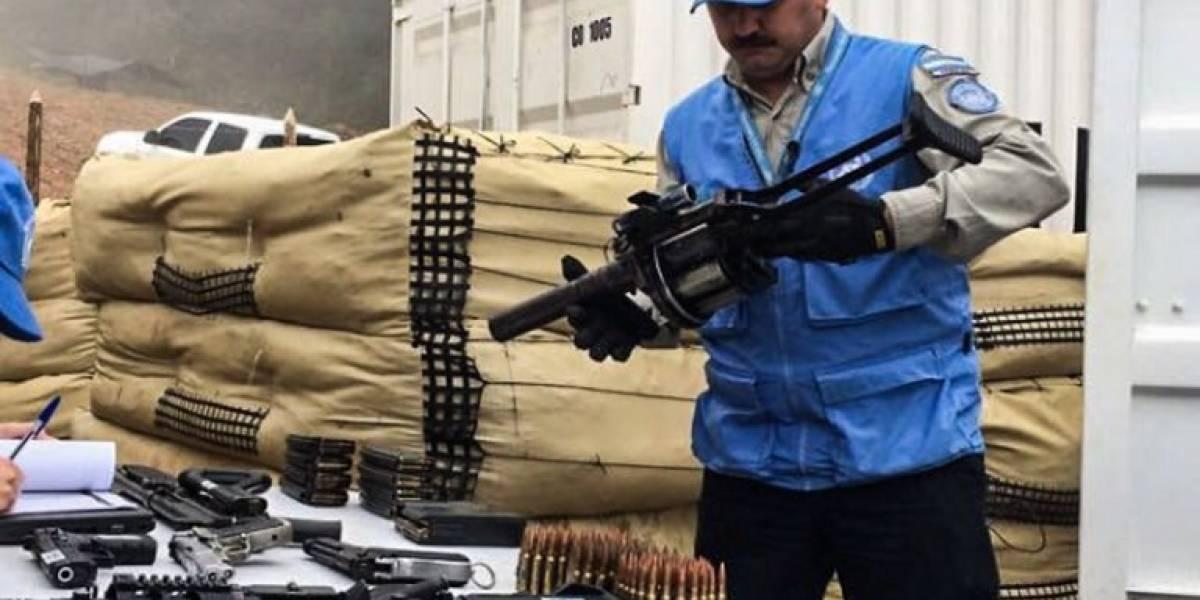 FARC entrega fusiles a la ONU en segunda fase de desarme