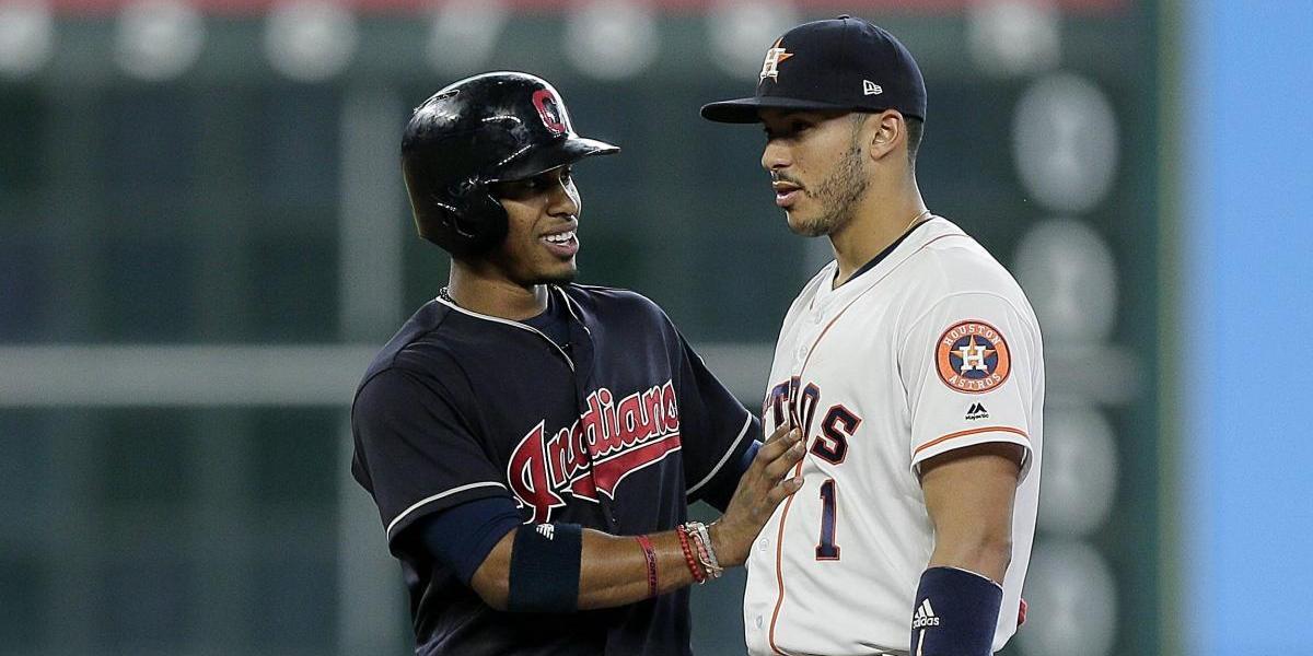 Correa y Lindor en carrera para campocorto en el Juego de Estrellas