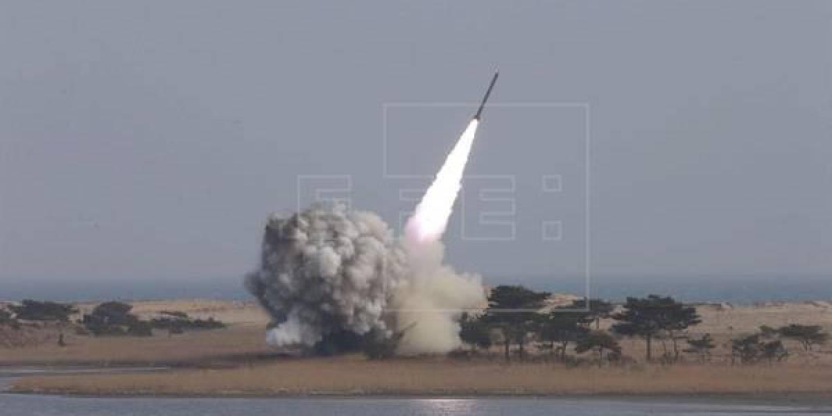 EEUU lanzó misil balístico desde California