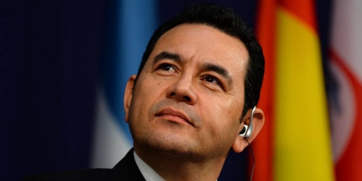 """Jimmy Morales: """"El Estado de Derecho siempre debe prevalecer"""""""