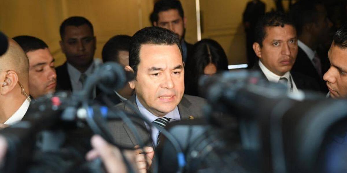 """Jimmy Morales sobre caso Hogar Seguro: """"El presidente no da todas las instrucciones"""""""