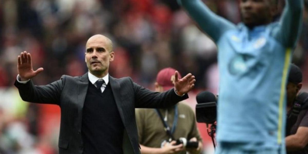 Josep Guardiola gana a José Mourinho el derbi de Manchester en la Liga Premier