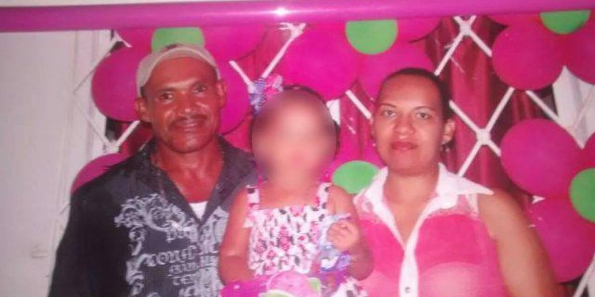 Acuchilló a su hija de cinco años e hirió a su esposa en Atlántico