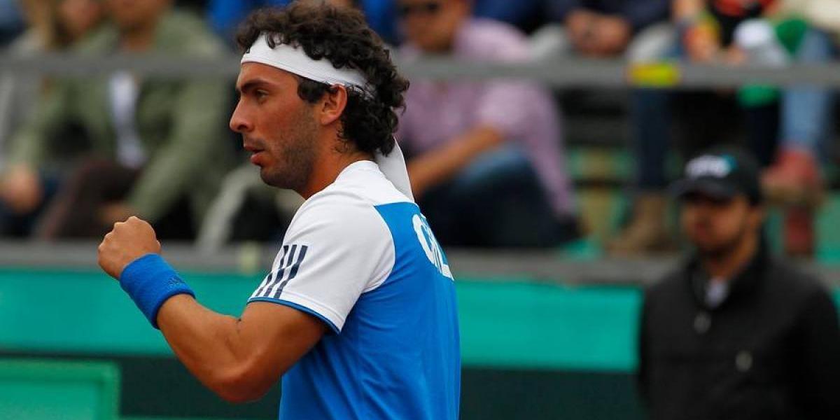 Gonzalo Lama volvió al tenis con una victoria en Estados Unidos
