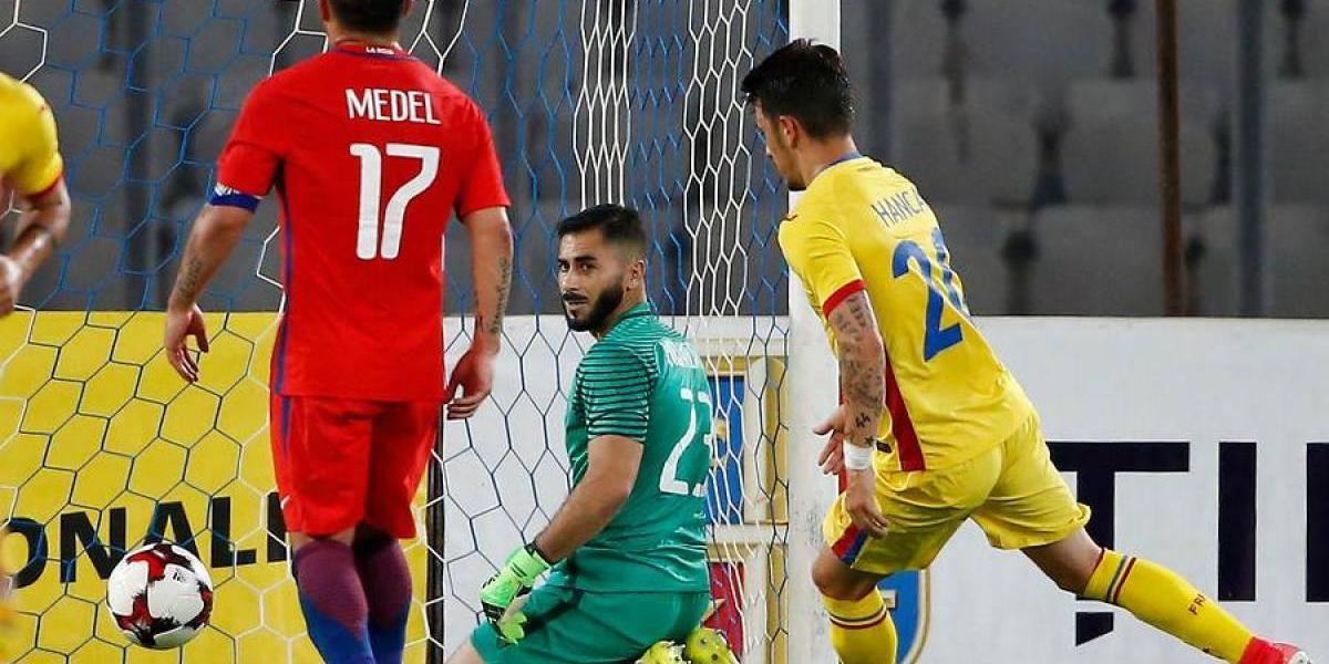 """Johnny Herrera: """"El ultimo gol fue un accidente, quedé muy conforme con mi actuación"""""""