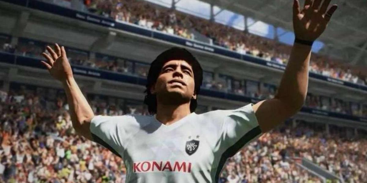 'Gol del Siglo'  de Maradona es recreado en el PES 2018