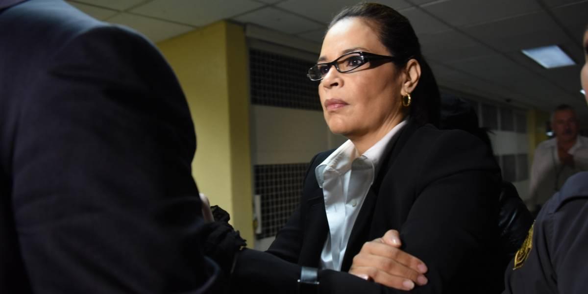 Baldetti busca comparecer por videoconferencia en audiencia por extradición