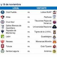 Calendario Apertura 2017
