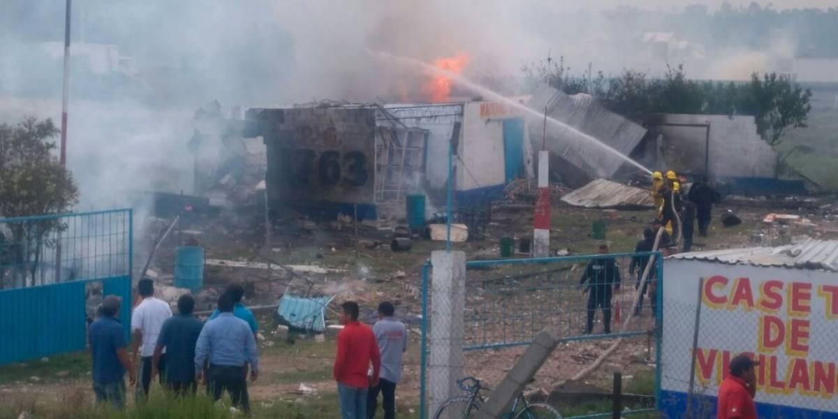 Explosión de polvorín en Zumpango, Edomex, deja dos heridos