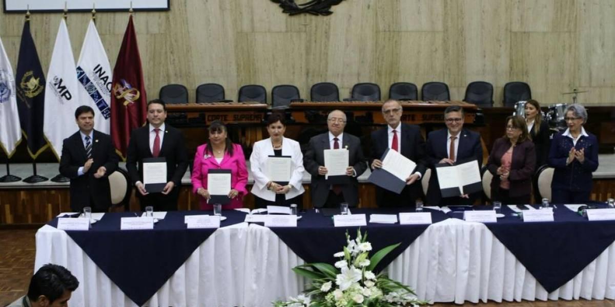 Presentan Sistema Integrado de Justicia para reducir la mora y la impunidad