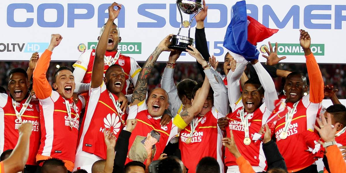 Estos serán los cruces de los equipos colombianos en la Copa Sudamericana 2017