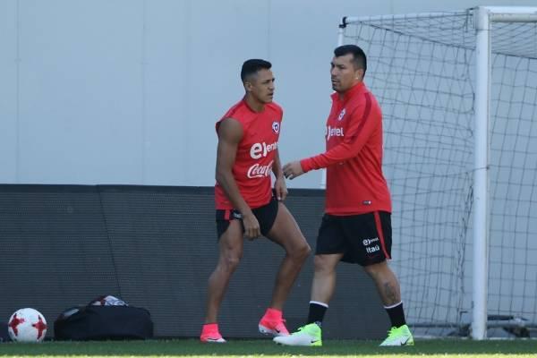 Alexis Sánchez y Gary Medel podrían cambiar de club tras la Confederaciones / Agencia UNO
