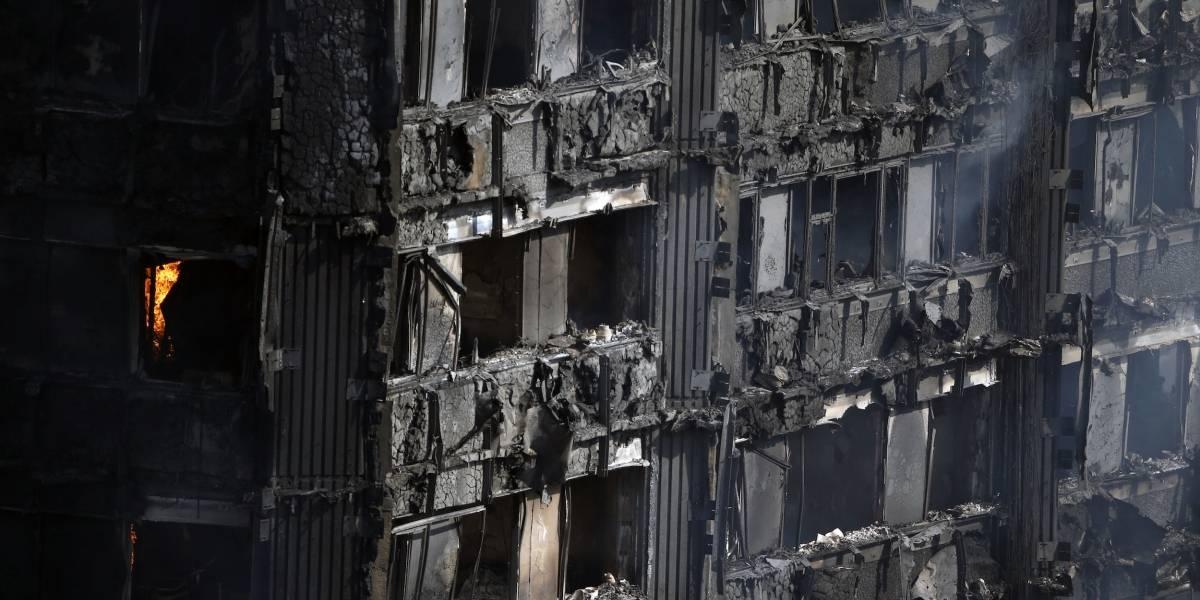 Lo que sabemos del incendio en edificio en Londres