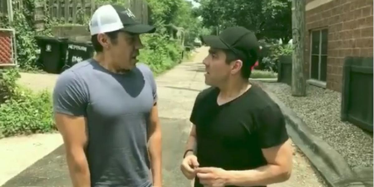 VIDEO: Omar Chaparro y Adrián Uribe en ¡amor americanista parte II!