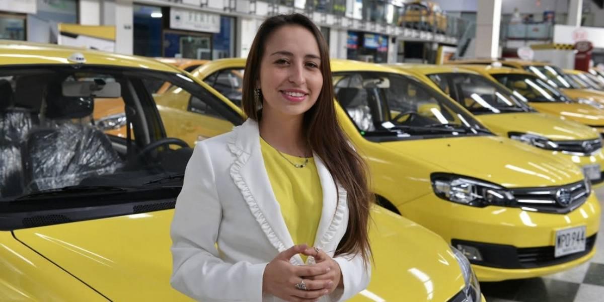 Taxis de lujo, la apuesta de Estefanía Hernández al frente de Taxis Libres