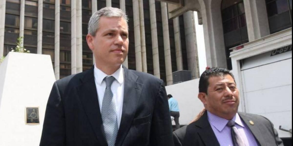 MP y CICIG presentan acusación formal contra el diputado Christian Boussinot