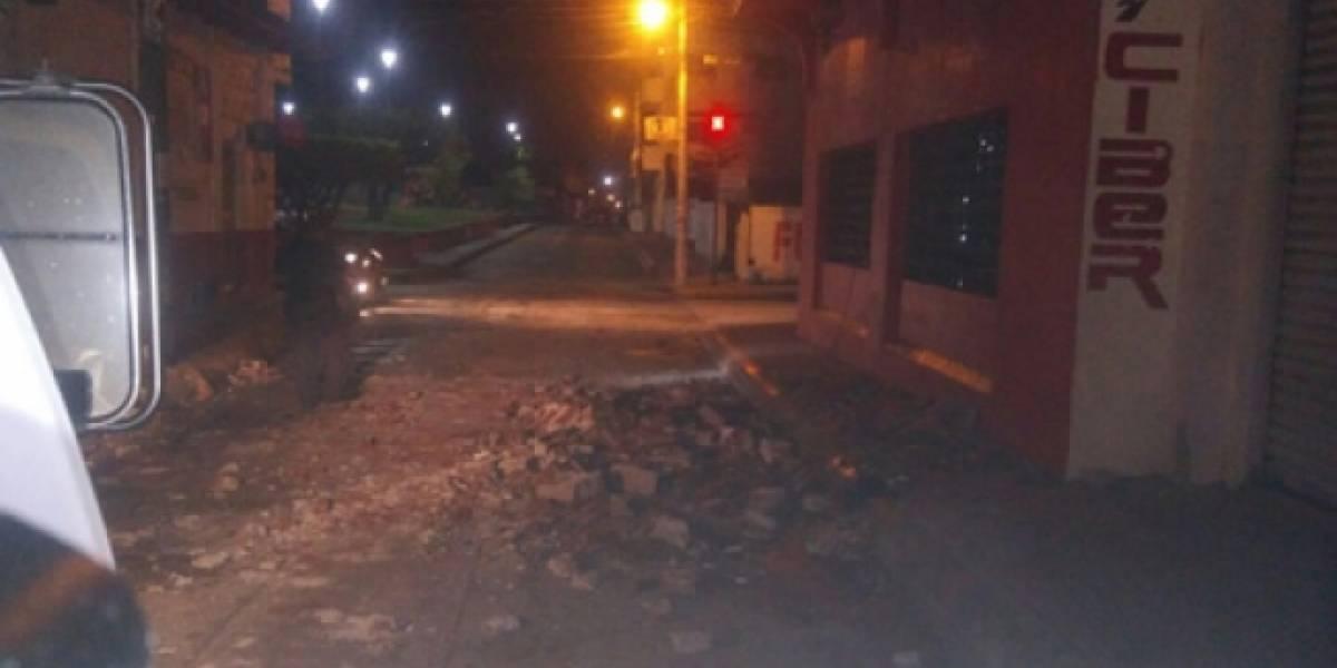 Sismo de 7.0 grados en Chiapas provoca diversas afectaciones materiales