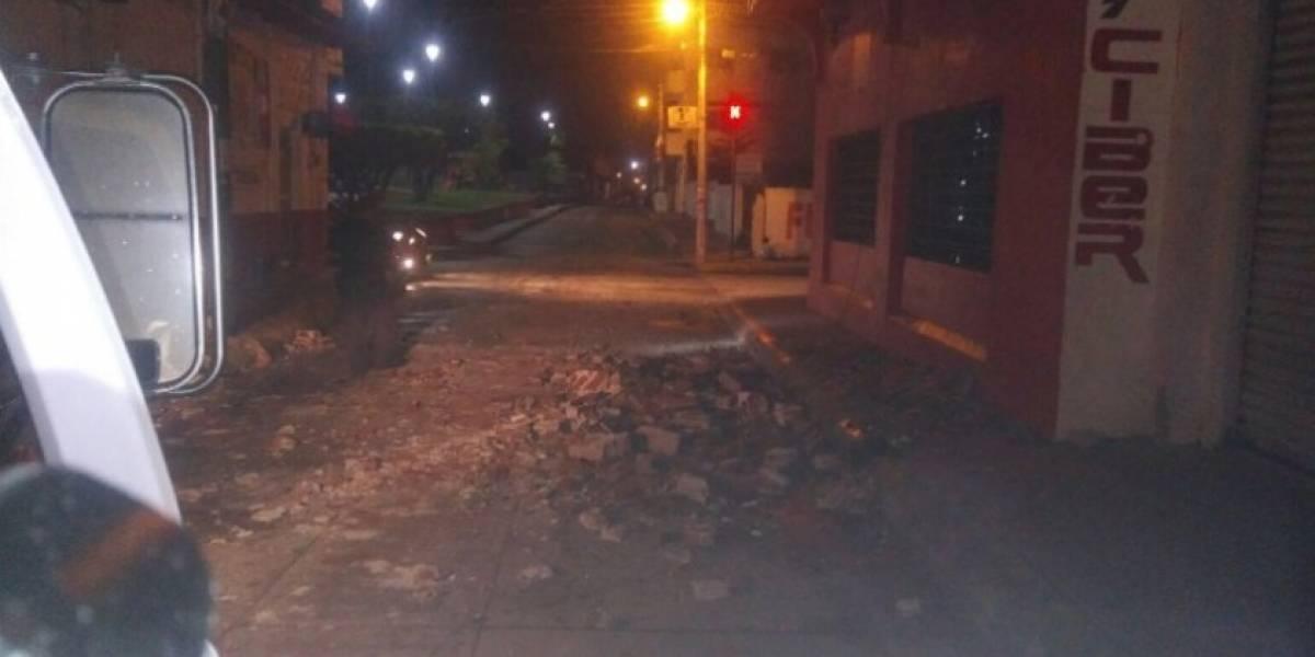 FOTOS. Sismo de 7 grados deja severos daños en México