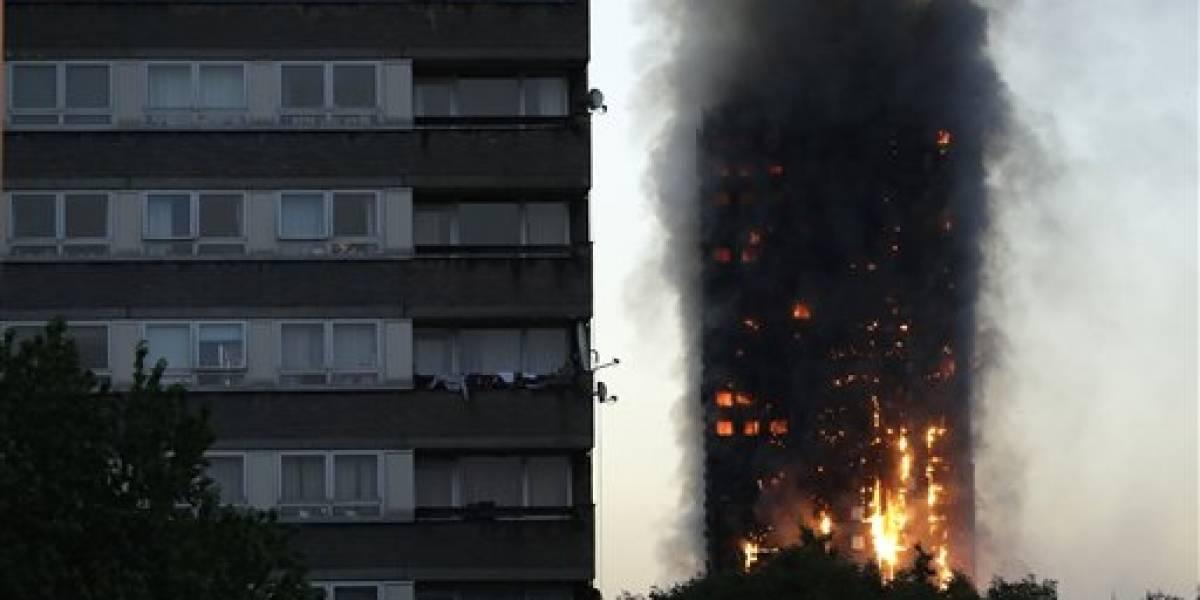 Varios muertos tras incendio en un rascacielos en Londres