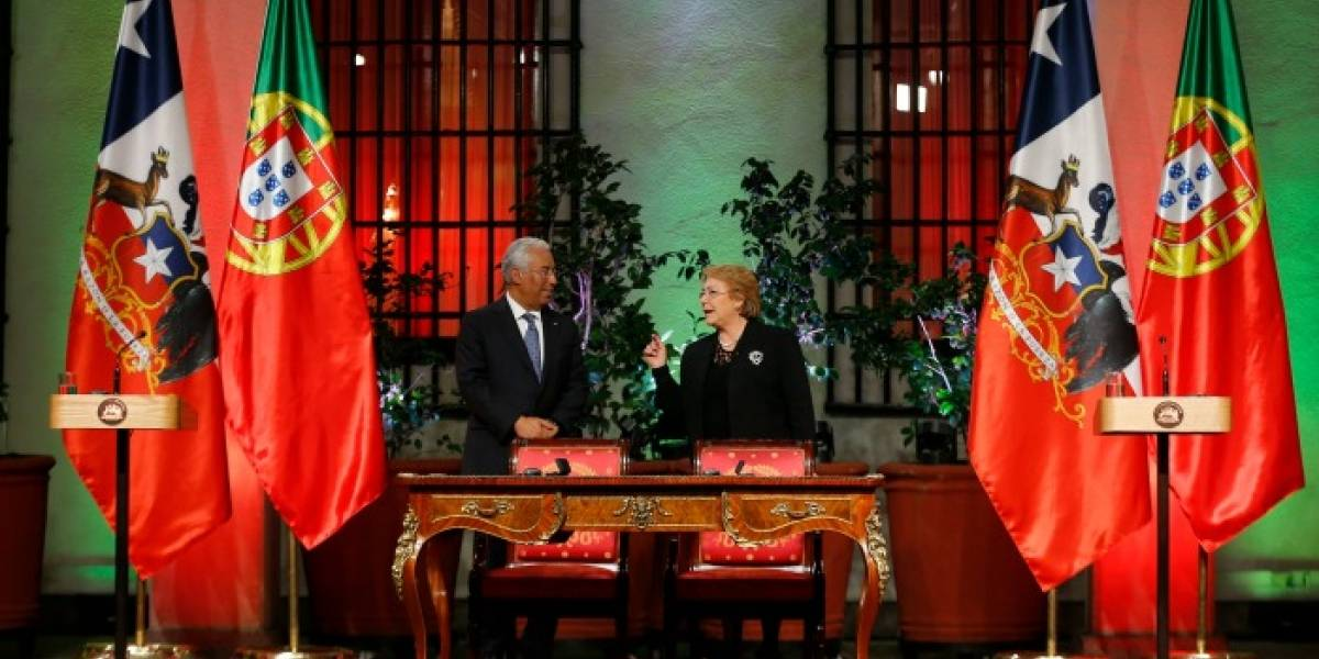 Bachelet anuncia firma de un acuerdo de Working Holidays con Portugal