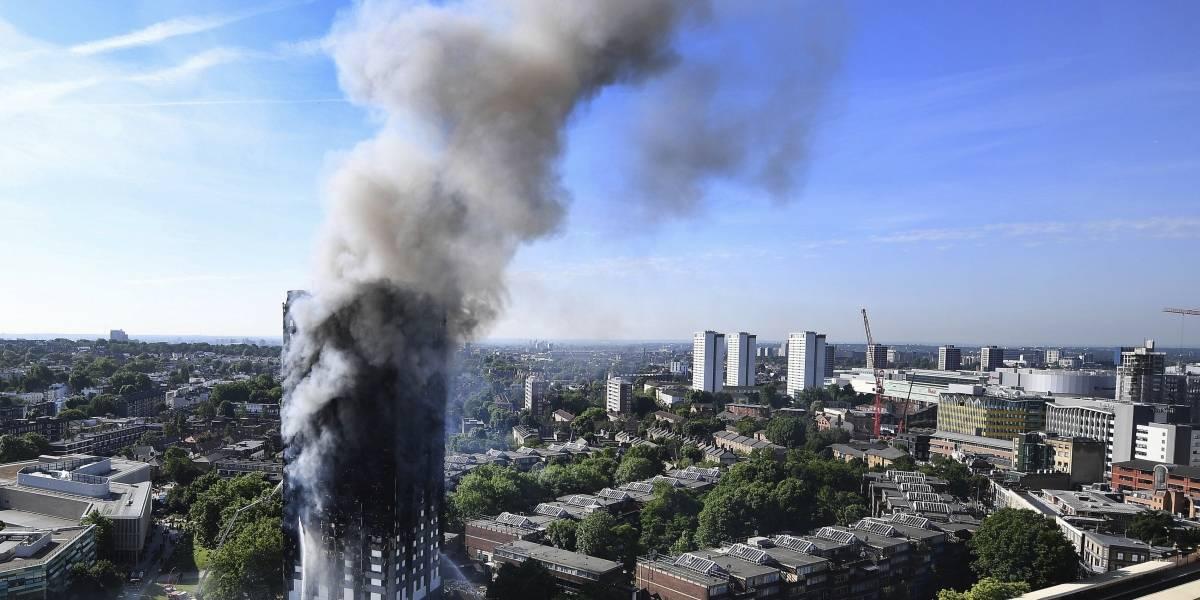Cancillería busca posibles víctimas colombianas en incendio en Londres
