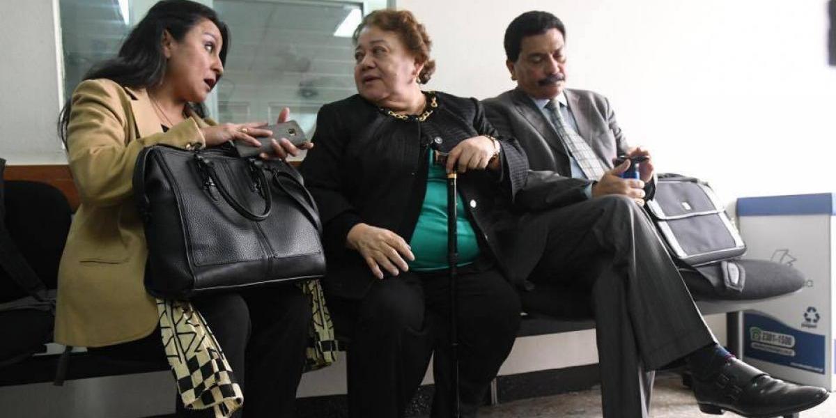 Marta Sierra responsabiliza al MP y CICIG de lo que le suceda en la cárcel