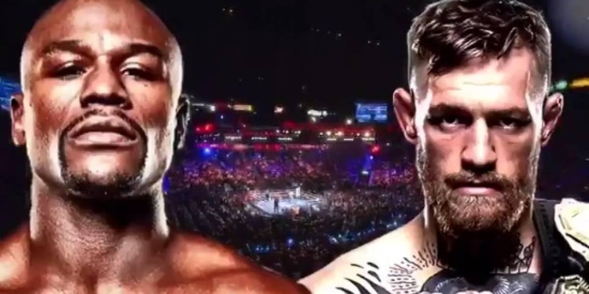 Hacen oficial pelea entre Mayweather y McGregor