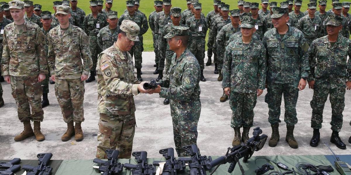Ejército estadounidense entra en Filipinas para combatir a Estado Islámico