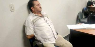 Aprehenden a Rafael Herrera Piedra por delito patrimonial al Estado