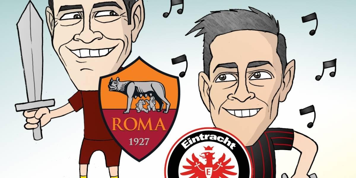 Moreno y Salcedo, a la conquista de nuevas ligas, en el cartón del día