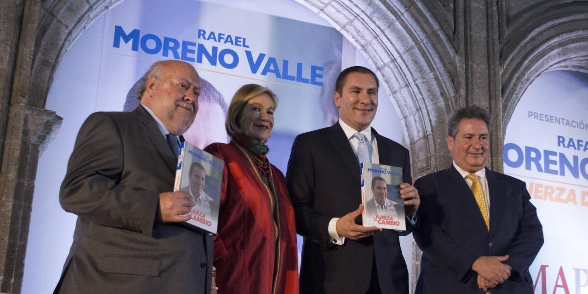 Editorial se deslinda de Miguel Ángel Porrúa y de Rafael Moreno Valle