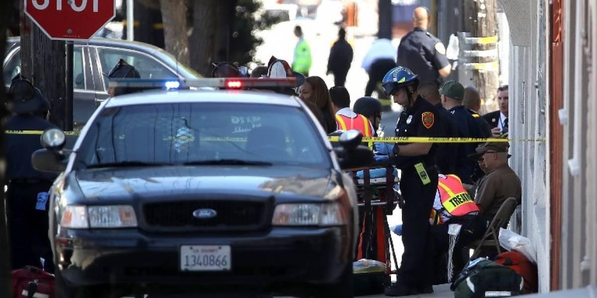 Tiroteo en San Francisco: policía cifra en tres los muertos más el sospechoso y descarta terrorismo