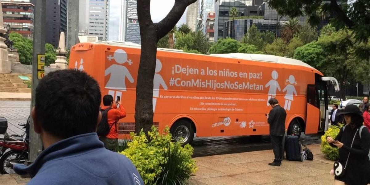 Libra #BusDeLaLibertad primer rodada en la CDMX