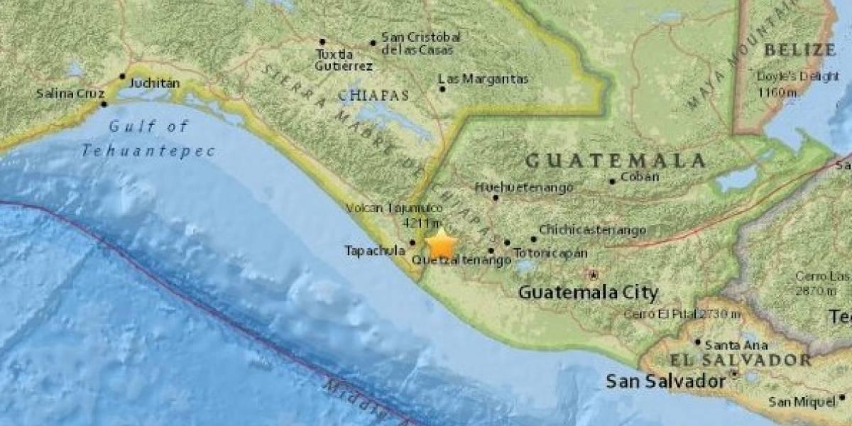 Sismo en Guatemala deja daños menores y un herido
