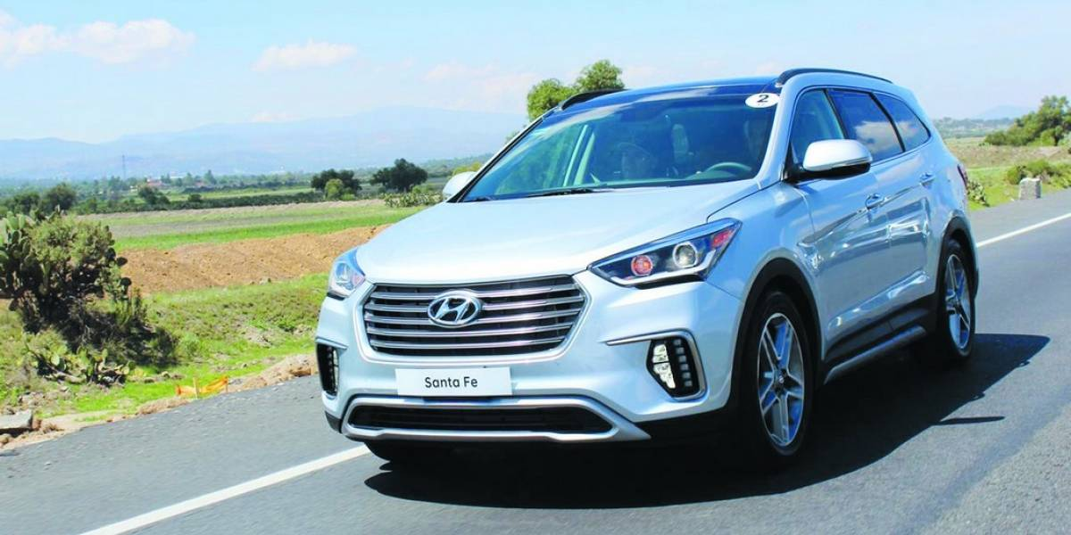 Hyundai Santa Fe 2018 para siete pasajeros, toca suelo mexicano