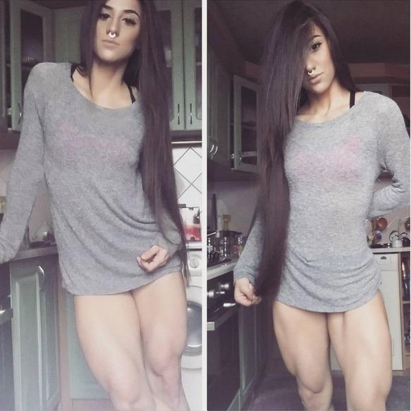 Iron Gym Lisburn Instagram: Bakhar Nabieva, La Chica Fitness Que Te Dejará Sin