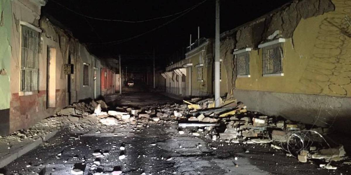 Sismo deja una persona fallecida, daños a viviendas y derrumbes en carreteras