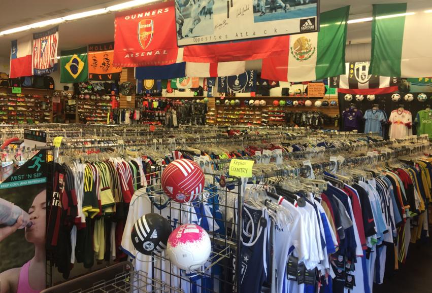 La tienda de fútbol