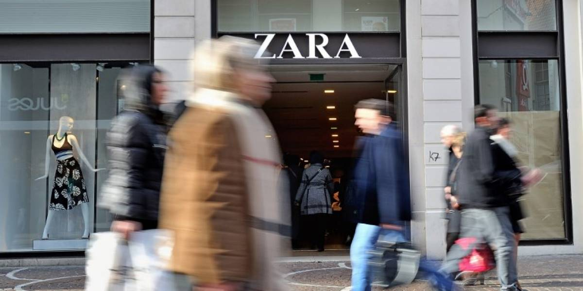 Matriz de tienda Zara aumenta sus beneficios en un 18%