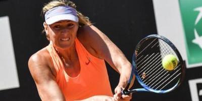 Sharapova volverá a jugar en mes de julio