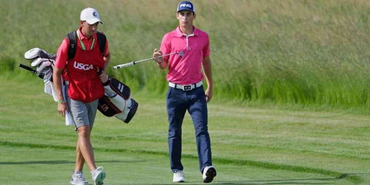 Joaquin Niemann quedó con gusto amargo en su estreno en el US Open de golf