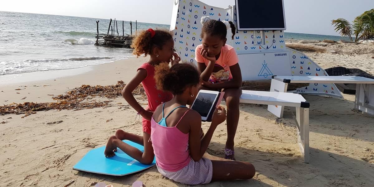 Con esta tecnológica aula rodante buscan llevar educación a todos los rincones de Colombia