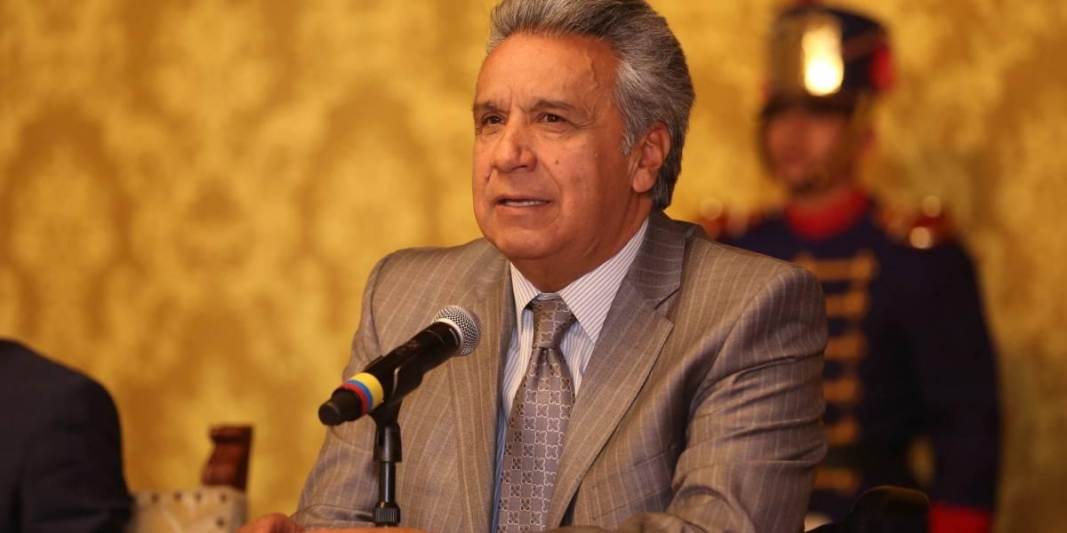"""Presidente Lenín Moreno: """"Vamos a la consulta popular"""""""