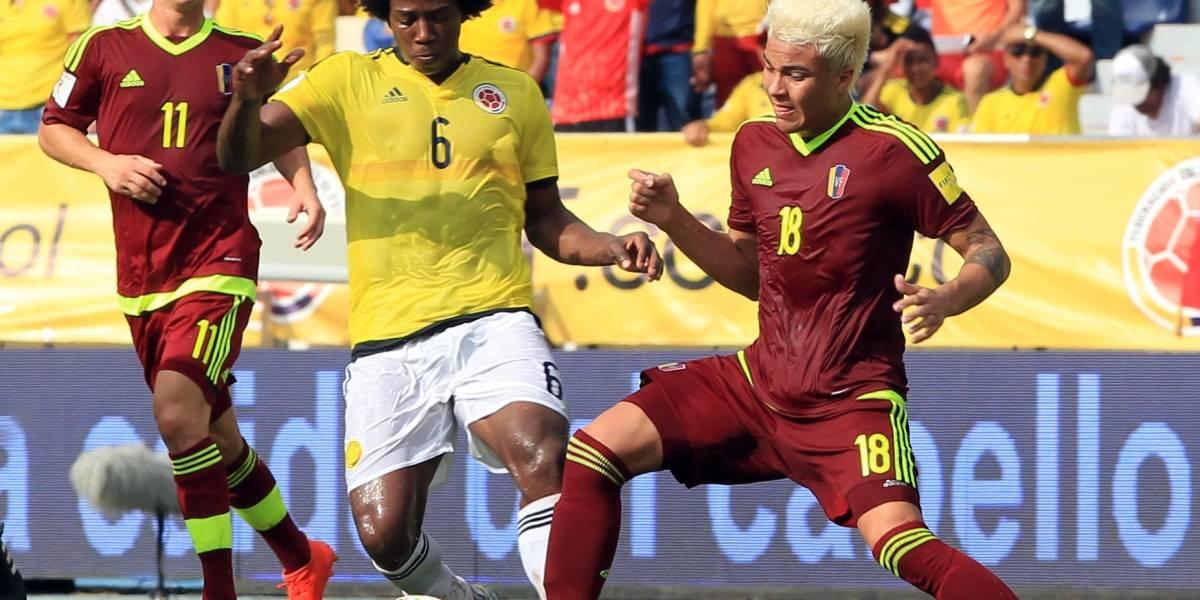 El partido Venezuela vs Colombia se jugará en San Cristóbal