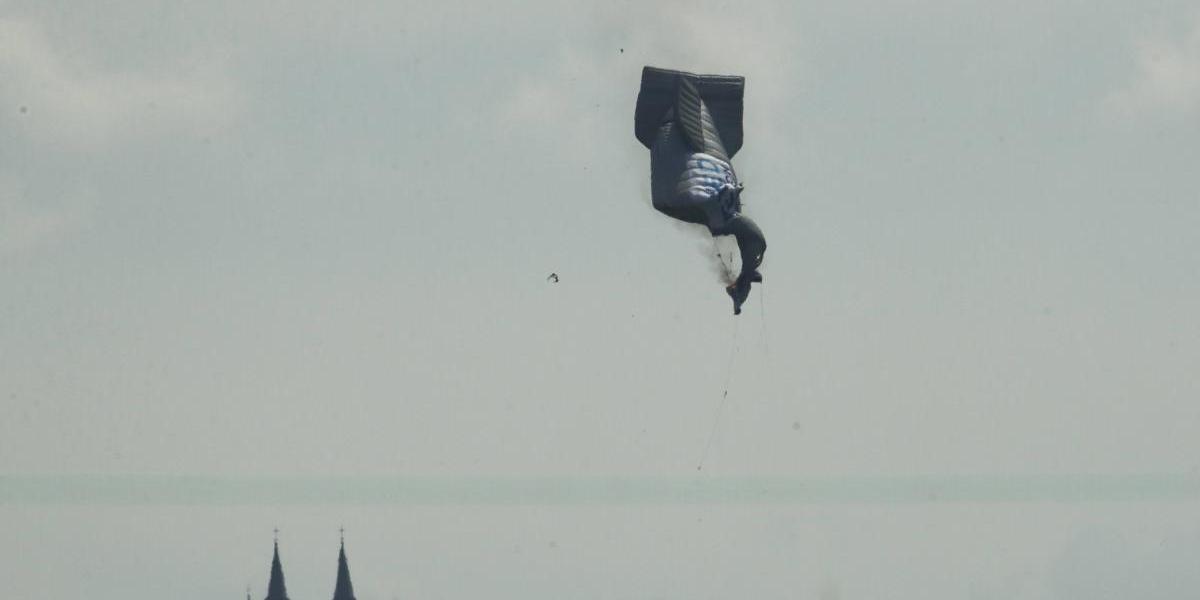 Se cae dirigible en el U.S. Open