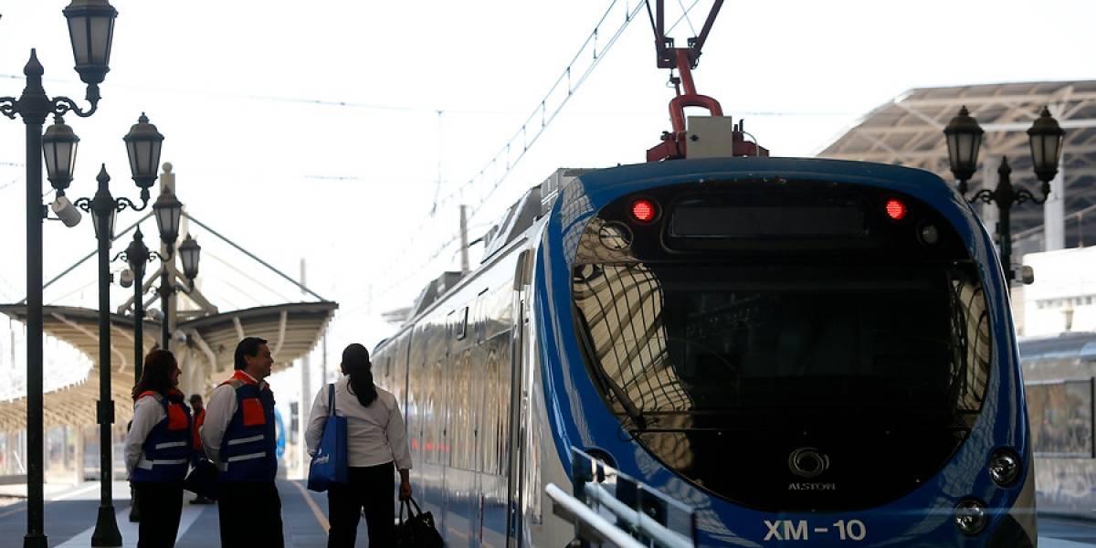Tren Alameda-Nos se queda sin funcionamiento por corte de energía eléctrica