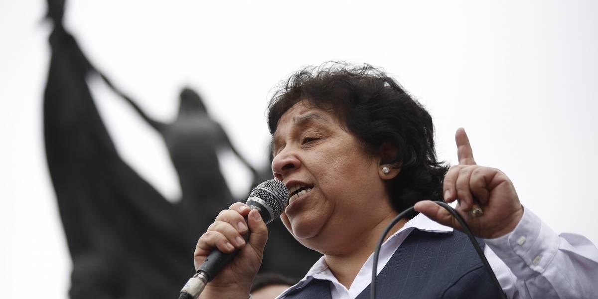 Nelly Díaz: La mujer fuerte de los gremios perdió la presidencia de los funcionarios del Registro Civil